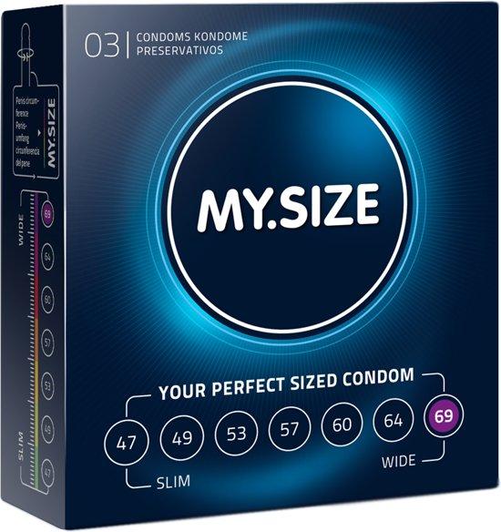 MY.SIZE 69 mm Condooms 3 stuks