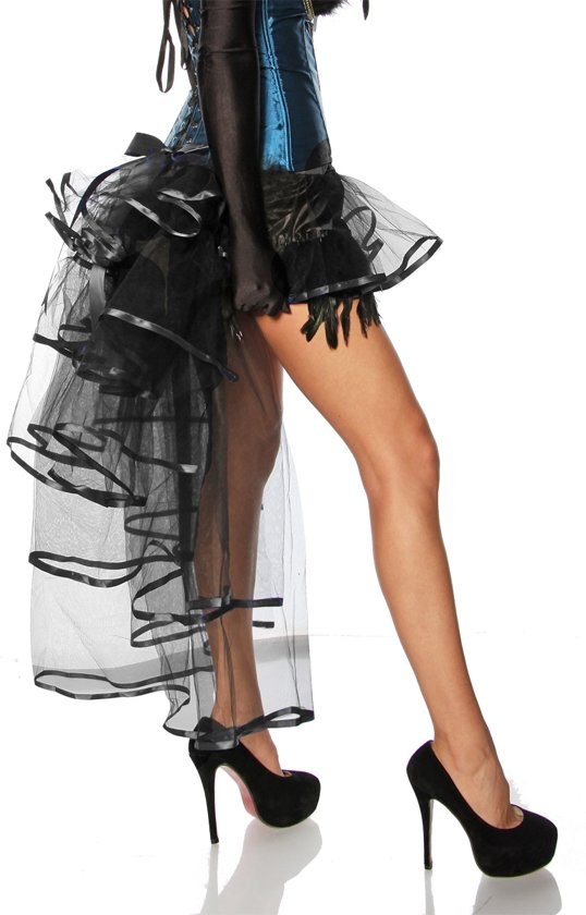 f574eb993f2 bol.com | Petticoat met Lange Achterkant Zwart 2