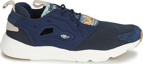 Chaussures De Sport Reebok Hommes Furylite Taille Noir / Bleu 45,5