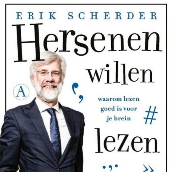 Boek cover Hersenen willen lezen van Erik Scherder (Onbekend)