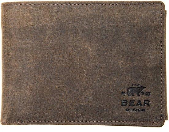 87ca9a2925b bol.com | Bear design Heren portemonnee Billford 7254 bruin