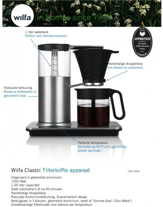 Wilfa CCM-1500S