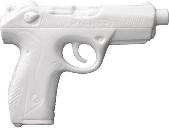 Bloomingville Revolver - Vaas - Wit