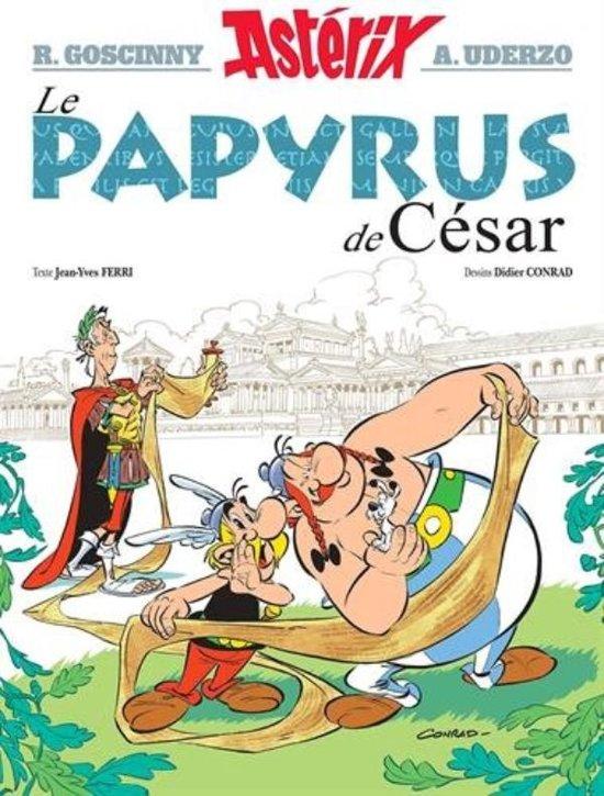 Boek cover Asterix 36 - Le Papyrus de César van Jean-Yves Ferri (Hardcover)