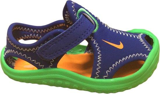 4a67399f3d44 Nike Sunray Protect Jongenssandaal - Maat 22 - Kobalt Groen