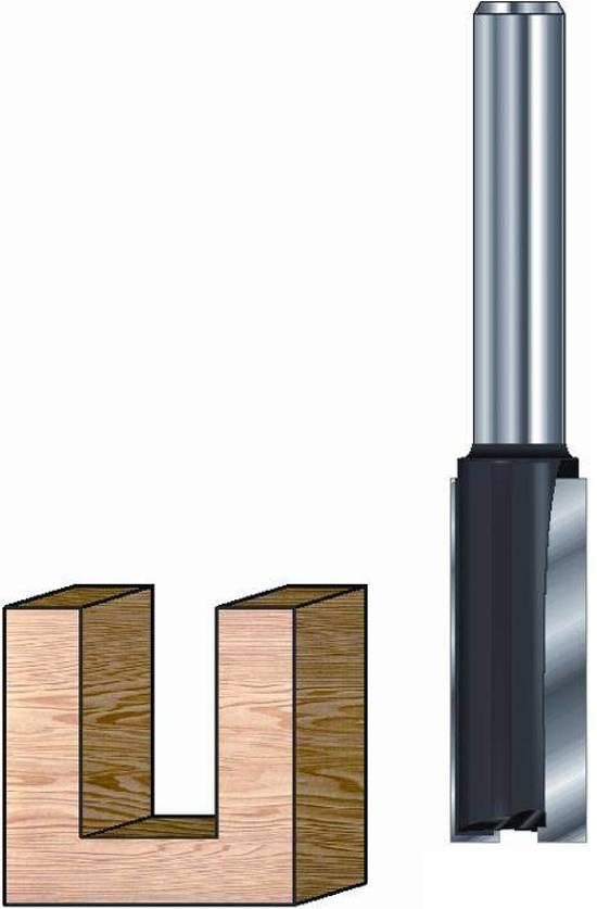 Lintner Groeffrees HM 18x30x70mm met HM grondmesKolf 8mm