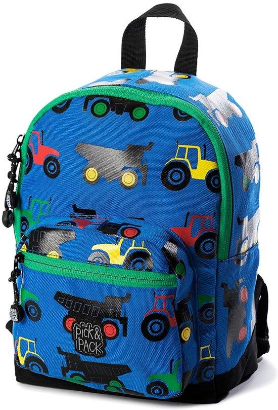 b59ce9d94d3 bol.com | Pick & Pack Tractor - Rugzak - Blue Multi