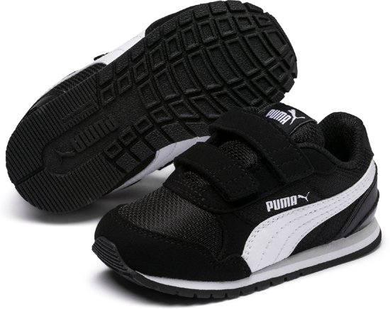 Puma Jongens Sneakers St Runner V2 Mesh Zwart Maat 22