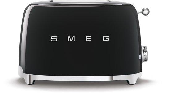 Smeg TSF01BLEU - Broodrooster - Zwart
