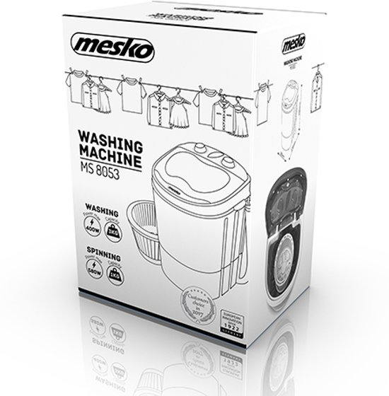 Mesko MS 8053 mini wasmachine