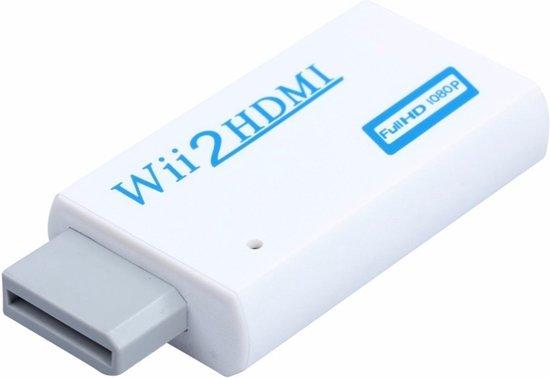 1080P Full HD - Wii Naar HDMI Adapter / Converter / Kabel / Omvormer- ZONDER HDMI KABEL