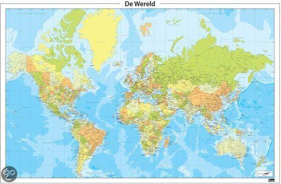 Bol Com Staatkundige Wereldkaart 428