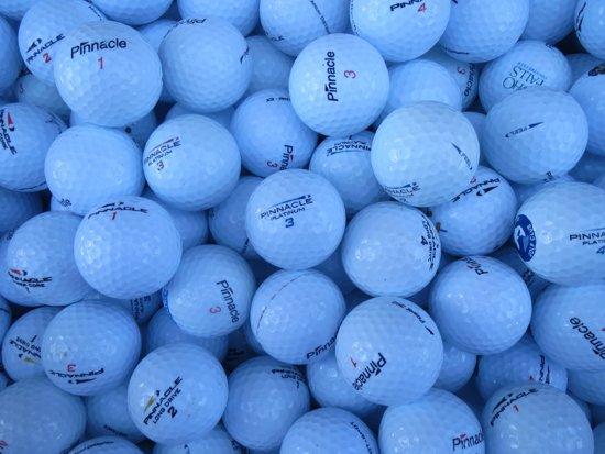 Golfballen gebruikt/lakeballs Pinnacle mix AAA klasse 50 stuks.