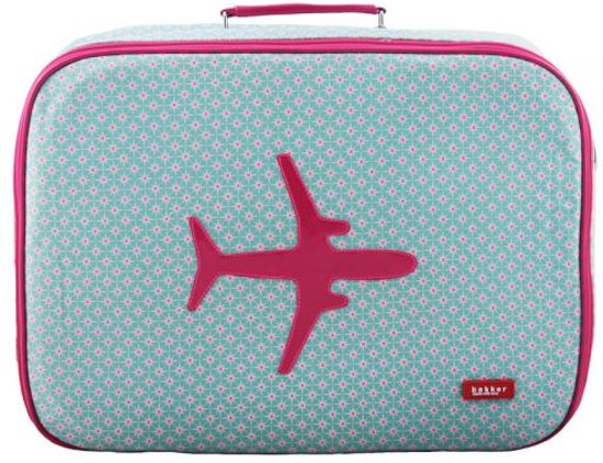 bakker koffer vliegtuig
