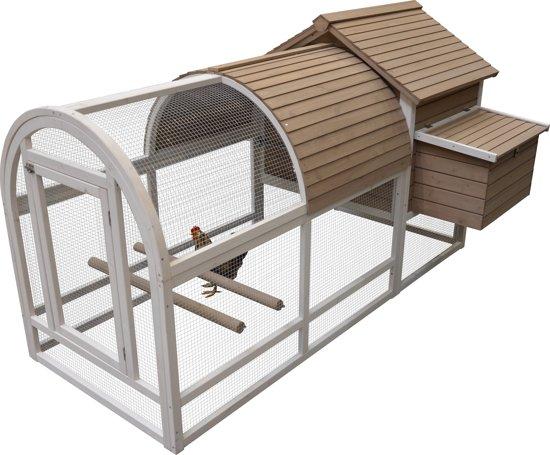 Duvo Woodland Ark 2 Kippenhok - 198x91x115 cm - Hout