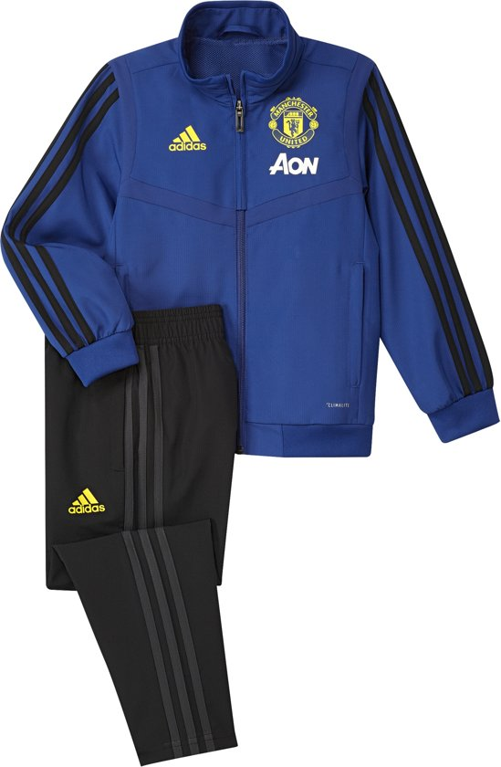 bol com adidas manchester united trainingspak 2019 2020 infants blauw maat 110 bol com