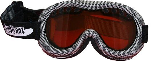 SkiBanz - Zonnebril - Zwart Wit