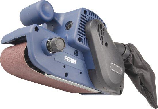 FERM BSM1024 Bandschuurmachine - 950W -  Incl. schuurband (P80) en stofopvangzak