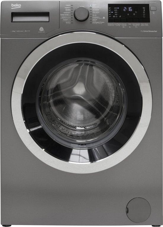 Wonderbaar bol.com | Beko WTC8733XCM - Wasmachine - Manhattan Grey XA-75