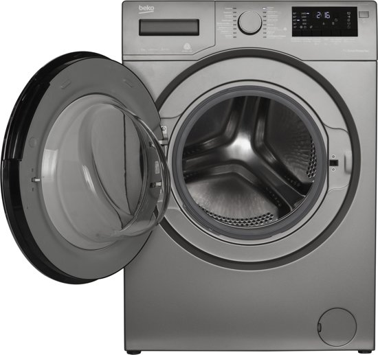 Beko WTC8733XCM - Wasmachine - Manhattan Grey