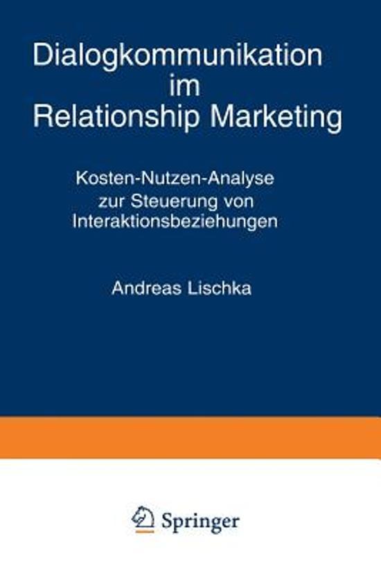 Dialogkommunikation Im Relationship Marketing
