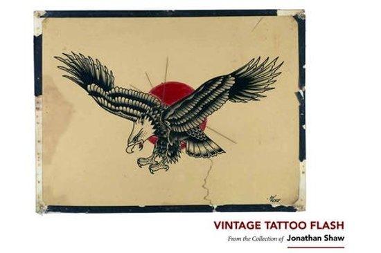 Bolcom Vintage Tattoo Flash Jonathan Shaw 9781576877692 Boeken