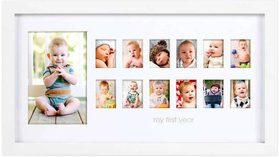 Pearhead Fotolijst babymomenten wit