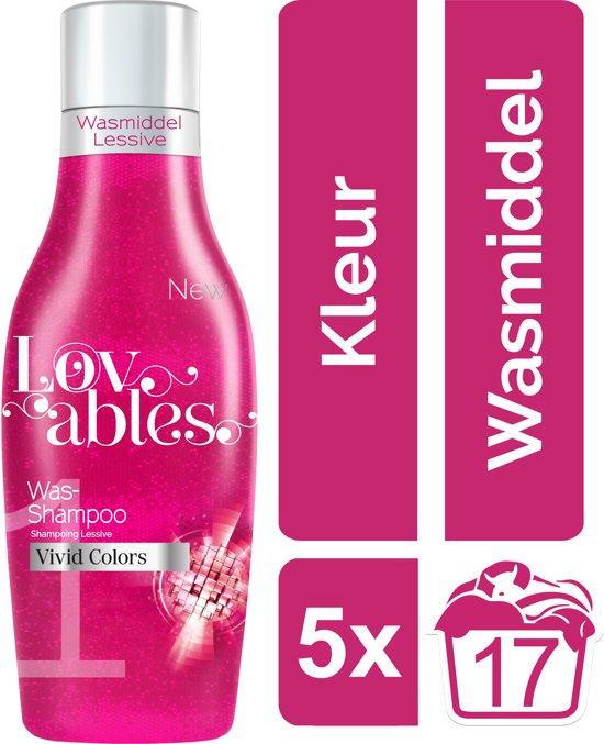 Lovables Shampoo - Vivid Colors - Kwartaalbox - 85 wasbeurten - wasmiddel