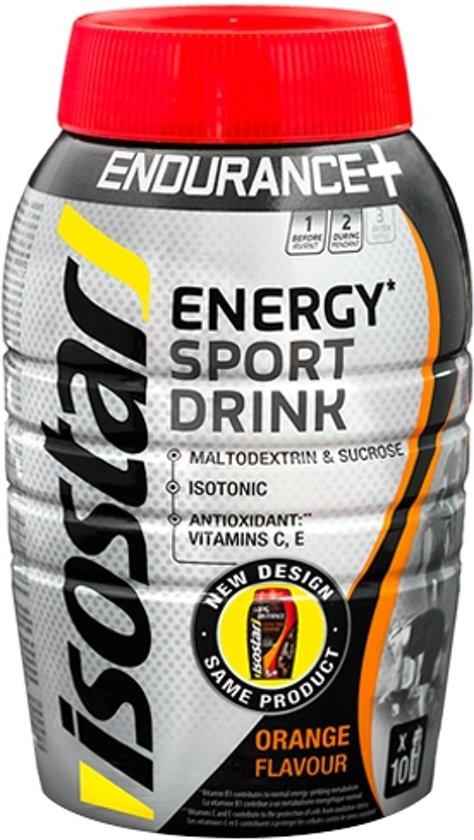 Isostar Long Energy Sportdrank - Orange - Poeder - 790 gram