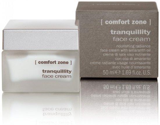 Comfort Zone Tranquillity Face Cream - Nourishing Radiance Face Cream.