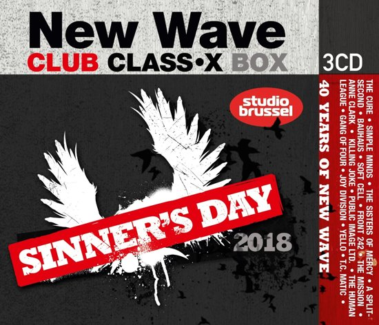 Sinner'S Day 2018 - 40 Years Of New