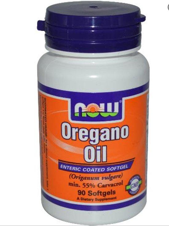 Oregano Olie (90 Softgels) - Now Foods