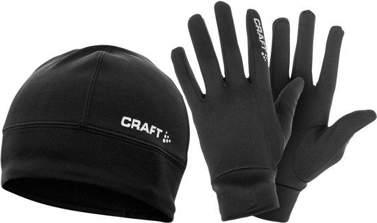 Craft Running Winter Gift Pack 1902959 - Handschoenen - Black - Unisex - Maat L