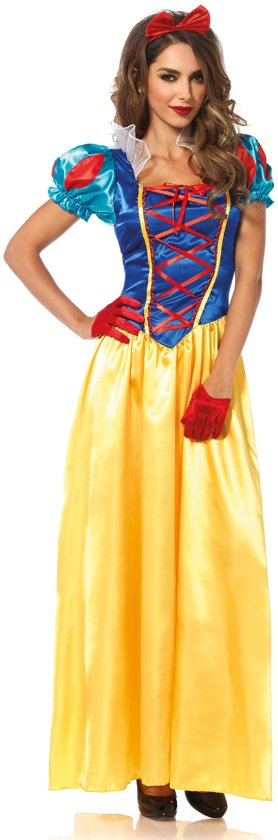 Klassieke Sneeuwwitje jurk - Sprookjes prinses kostuum voor dames  - Verkleedkleding - Large