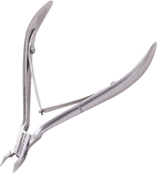 Tweezerman - Stainless Steel Nagelriemknipper 1/2 Jaw