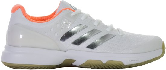 adidas adiZero Ubersonic 2 Clay  Tennisschoenen - Maat 42 - Vrouwen - wit