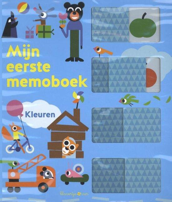 Memoboeken - Mijn eerste memoboek Kleuren