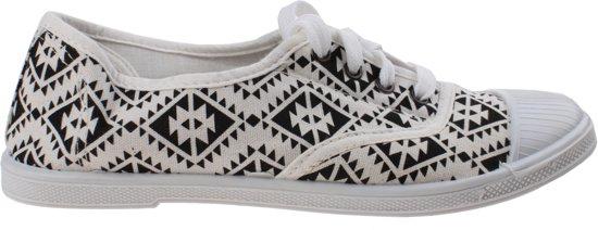 Dames zwart Maat Wit Topten Sneakers 39 Ovqw5PRFz