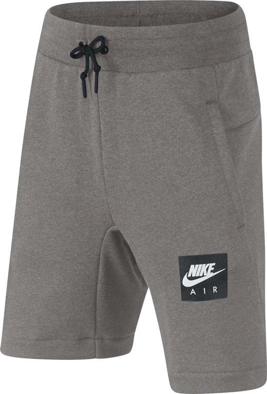 | Nike Nike Air Short Boys Shorts grijs licht 140