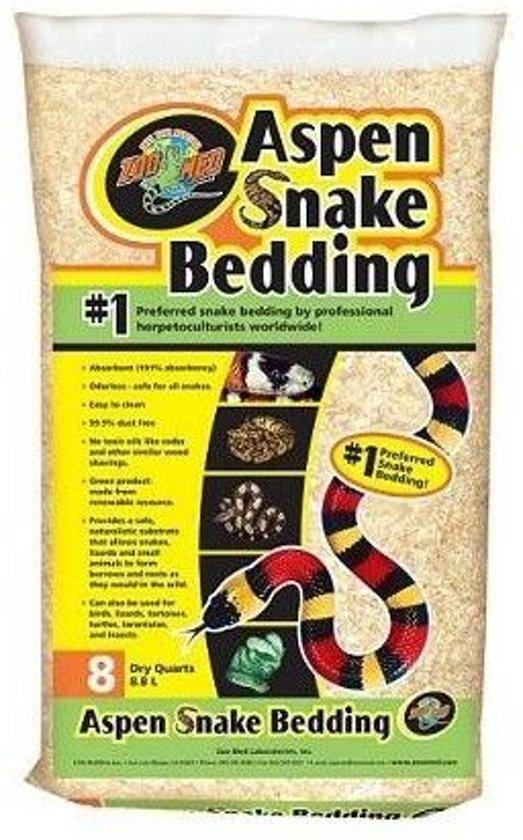 Aspen Snake Bedding 8,8 l
