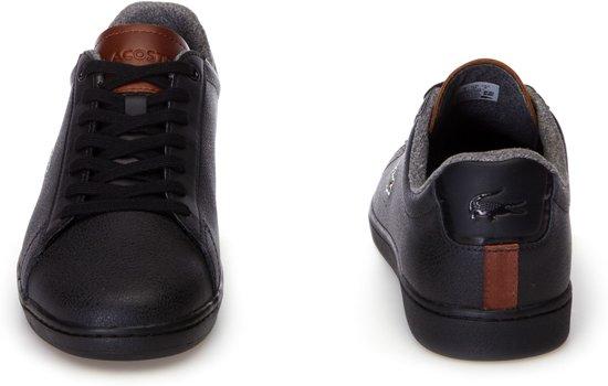 41 Mannen Maat Lacoste Herensneakers Sneaker Zwart Carnaby tIf4fX