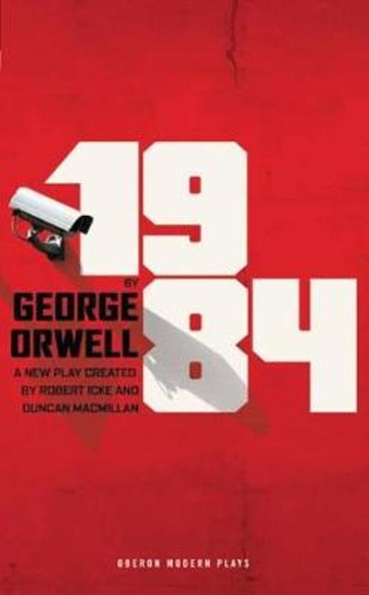 Boek cover 1984 - toneelstuk van George Orwell (Paperback)