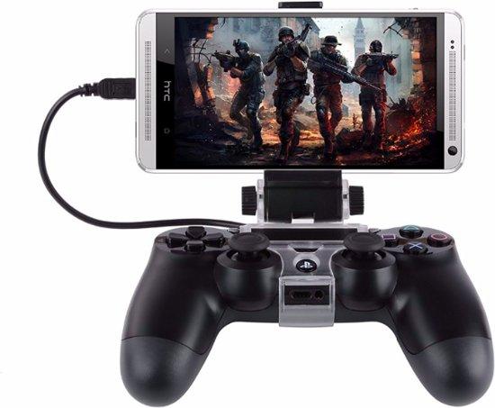 Universele Telefoonhouder voor PS4 Controller – Smartphone Playstation Klem Transparant