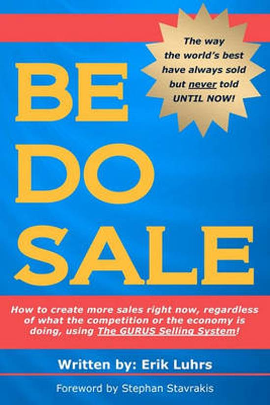 Be Do Sale