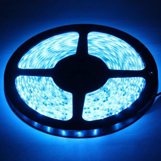 Epoxy Waterproof Rope Light, Lengte: 5 m, Blauw Licht 3528 SMD LED, 60 LED / m