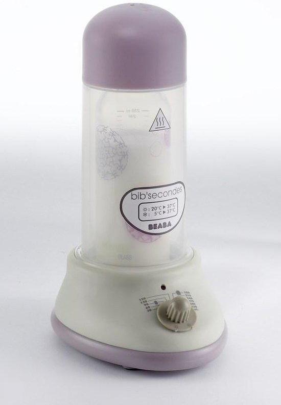 Béaba Bib'secondes Supersnelle Flesverwarmer op stoom Pastel - Pink