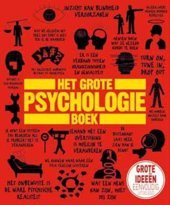 Boek cover Het grote psychologieboek van Catherine Collin (Hardcover)