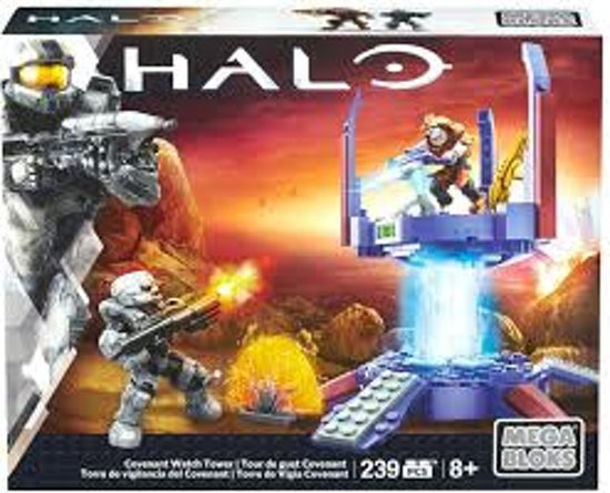 Halo Covenant Watch Tower Mega Bloks