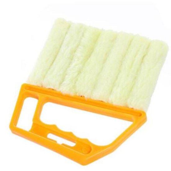 Professionele Microfiber Borstel - Voor Jaloezieën - Lamellen - Luxaflex - Schoonmaakborstel - Stof verwijderaar - Premium kwaliteit