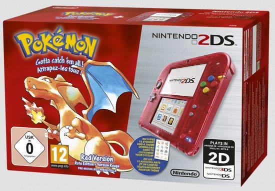 Nintendo 2DS + Pokemon Red - Rood kopen